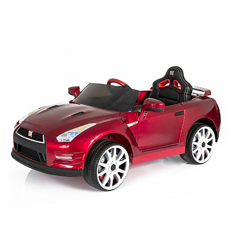 ScorpionWheels Ηλεκτροκίνητο παιδικό αυτοκίνητο Licenced Nissan GT-R R35 12v με τηλεκοντρόλ Λευκό 5243800