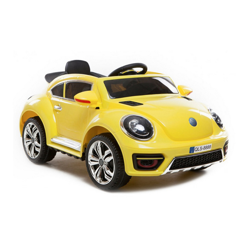 ScorpionWheels Ηλεκτροκίνητο παιδικό αυτοκίνητο τύπου Volkswagen Beetle 12v με τηλεκοντρόλ λευκό 5246020