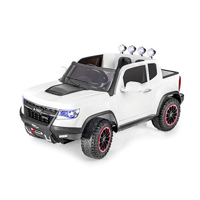 ScorpionWheels Ηλεκτροκίνητο παιδικό αυτοκίνητο τύπου Chevrolet Colorado 4X4 12v Λευκό με τηλεκοντρόλ 5247002