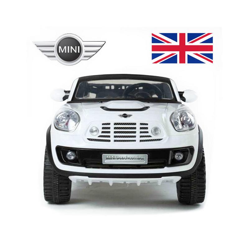 ScorpionWheels Ηλεκτροκίνητο παιδικό αυτοκίνητο  Mini Cooper Beachcomber Licensed το ΜΕΓΑΛΟ δύο θέσεων 12v με τηλ/ντρόλ  5247099