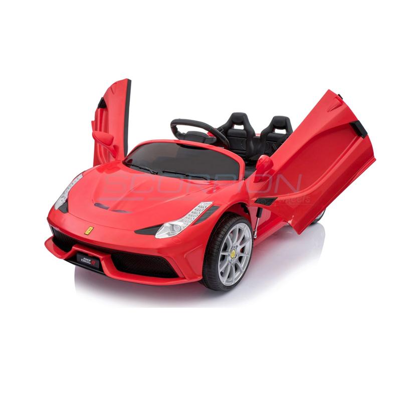 ScorpionWheels Ηλεκτροκίνητο παιδικό αυτοκίνητο τύπου Ferrari 12v κόκκινο με τηλεκοντρόλ 5246088