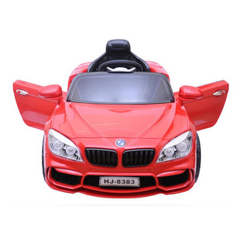 Ηλεκτροκίνητο παιδικό αυτοκίνητο τύπου BMW με τηλεκοντρόλ 12V HJ-8383 Κόκκινο