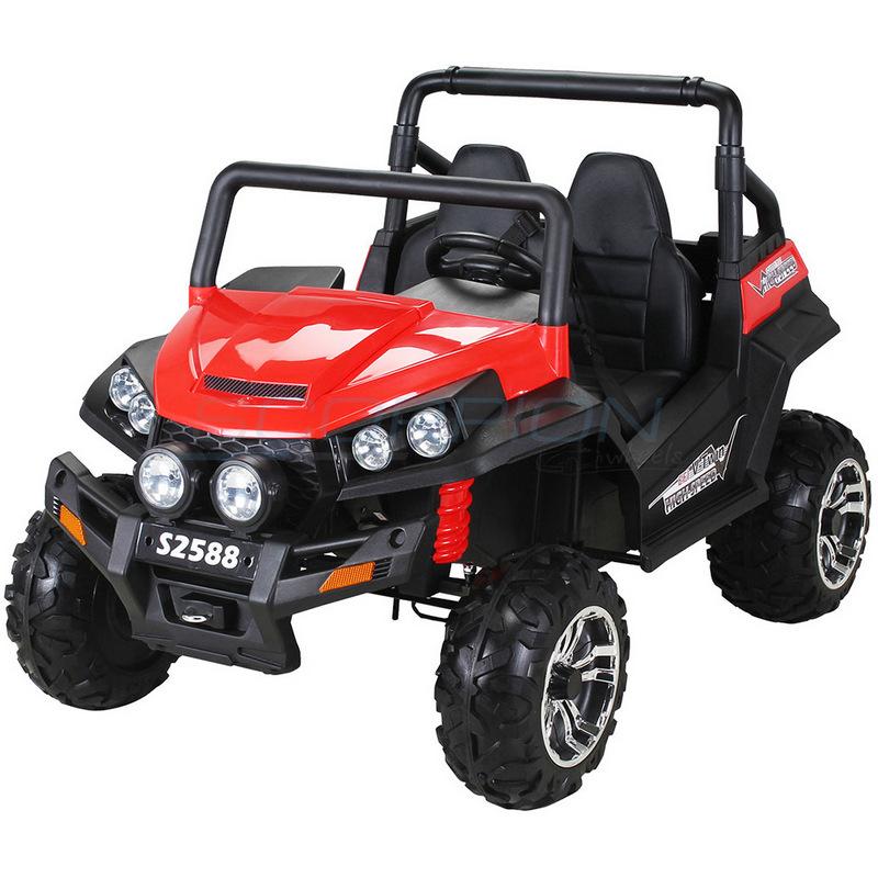 ScorpionWheels Διθέσιο Ηλεκτροκίνητο παιδικό αυτοκίνητο Commander  4X4 κόκκινο με τηλεκοντρόλ 5248088