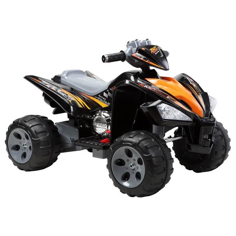 ScorpionWheels Ηλεκτροκίνητη παιδικη μοτοσυκλέτα / Γουρούνα 12V Μαύρη 5245007