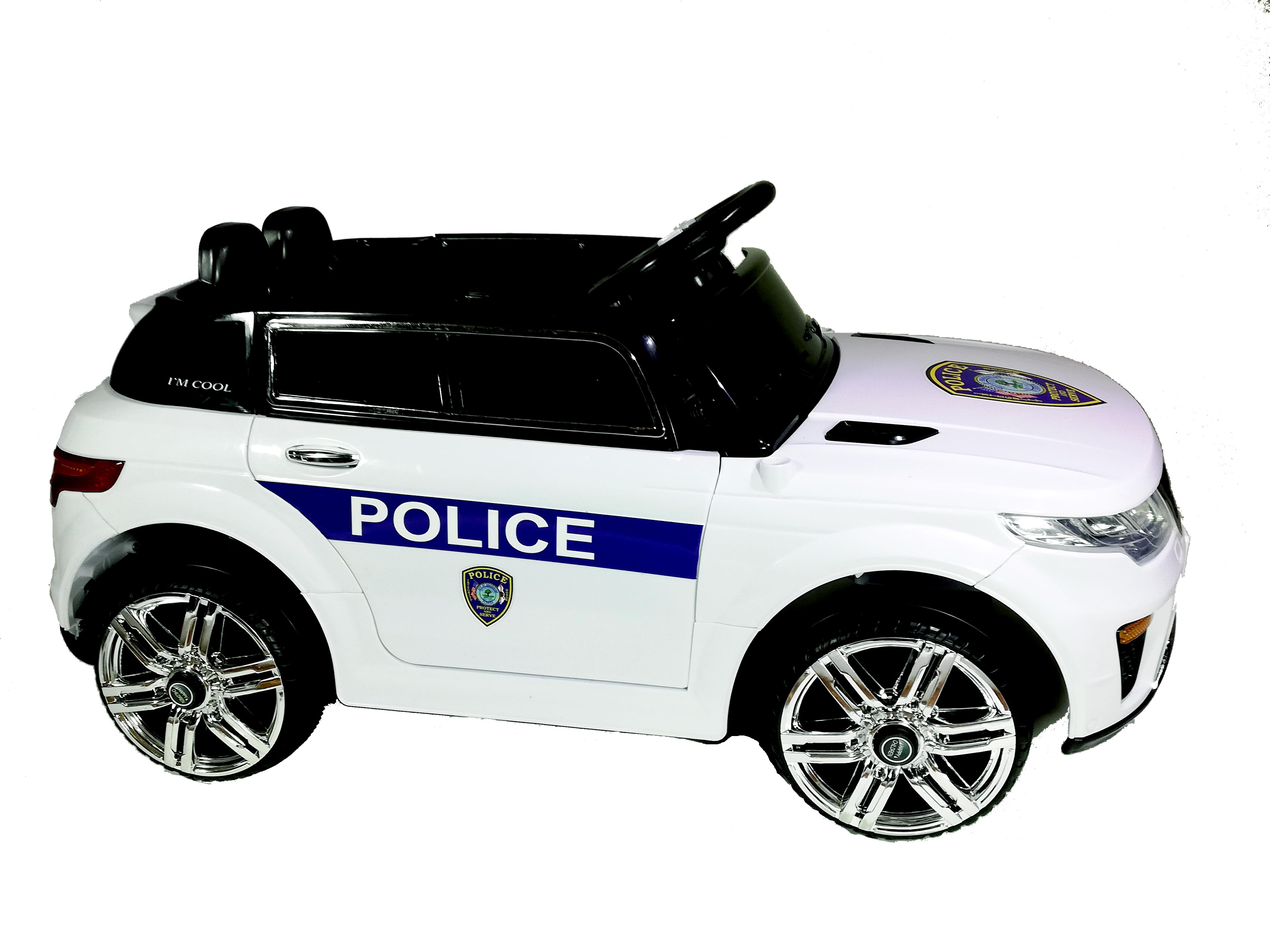 Ηλεκτροκίνητο παιδικό αυτοκίνητο τύπου Range Rover Police 12v με τηλ/ρολ  HJ1055