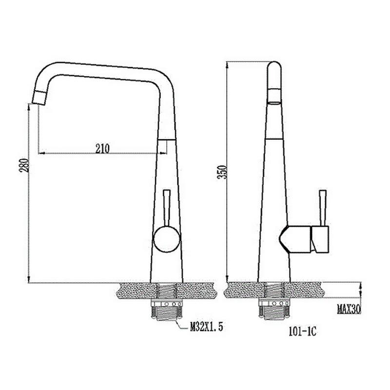 Μπαταρία κουζίνας  KLS AMAZON 699003