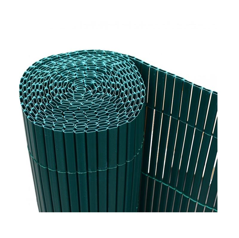 Καλαμωτή σε ρολό από PVC σε χρώμα πράσινο