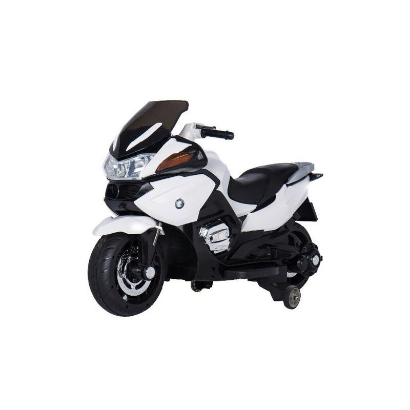 Ηλεκτροκίνητη παιδικη μοτοσυκλέτα / μηχανή  HZB-118 12v Λευκή