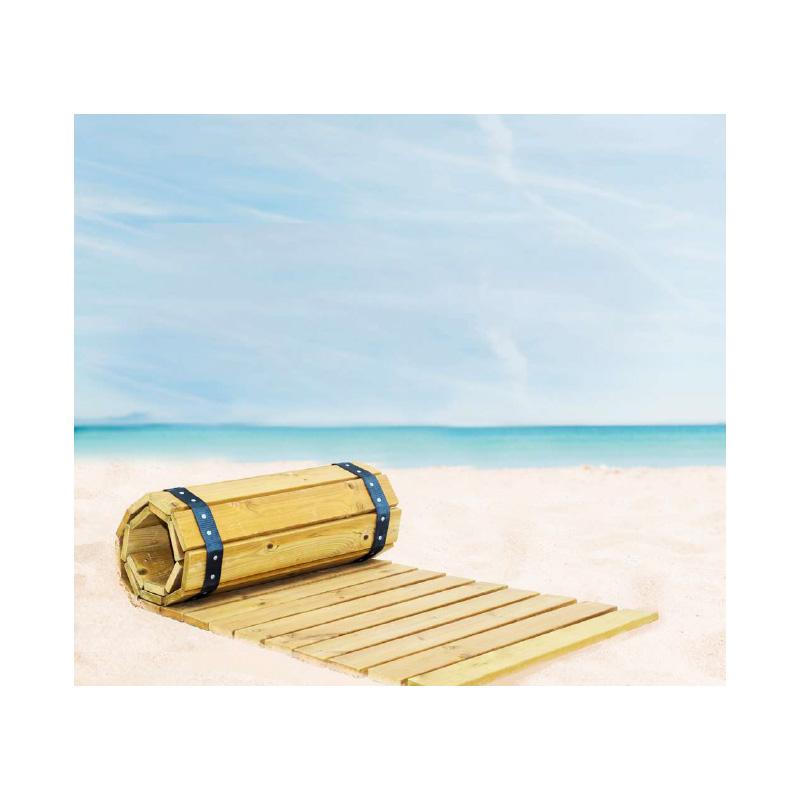 Ξύλινος εμποτισμένος διάδρομος παραλίας