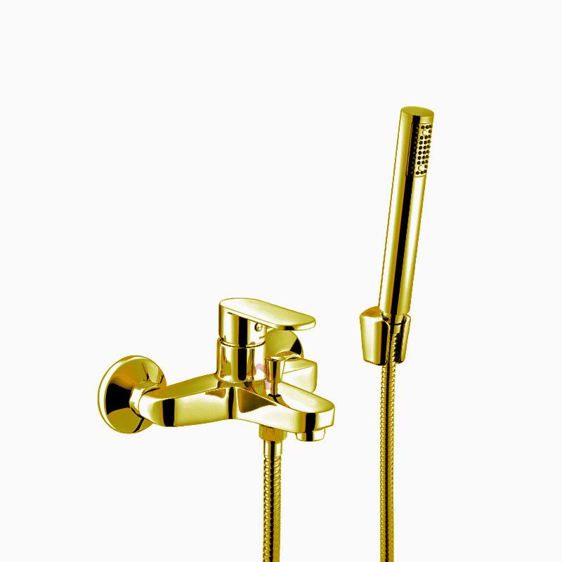 Μπαταρία Λουτρού με τηλέφωνο χρυσή  Gaboli Fratelli Jolie 3810