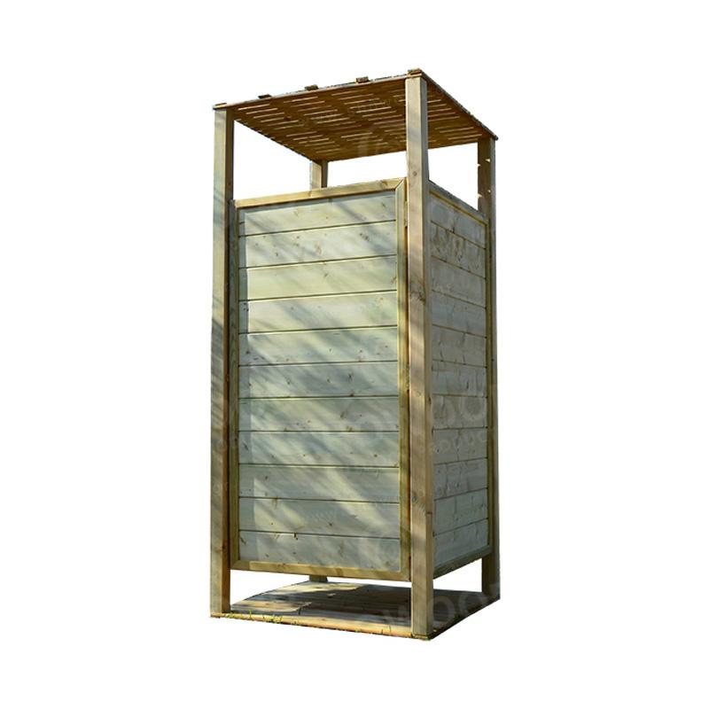 Ξύλινη εμποτισμένη αλλαξιέρα παραλίας 226(Y) x100 x100εκ.