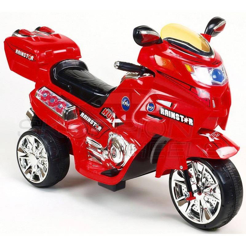 SkorpionWheels Ηλεκτροκίνητη παιδικη μοτοσυκλέτα / μηχανή  6v με τηλεκοντρόλ κόκκινη 5245021
