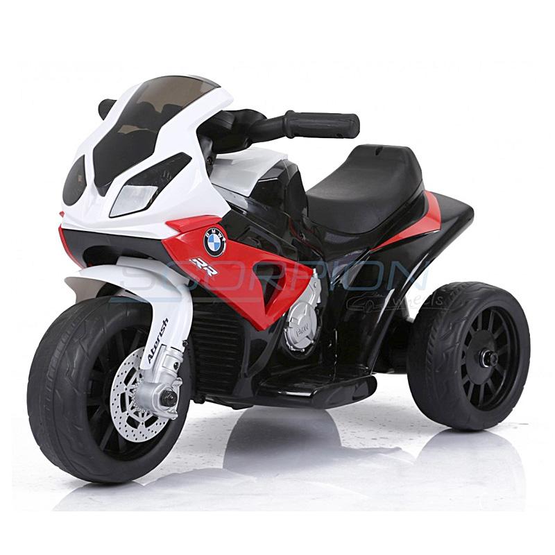 SkorpionWheels Ηλεκτροκίνητη παιδικη μοτοσυκλέτα / μηχανή BMW S1000RR 6v κόκκινη 5245022