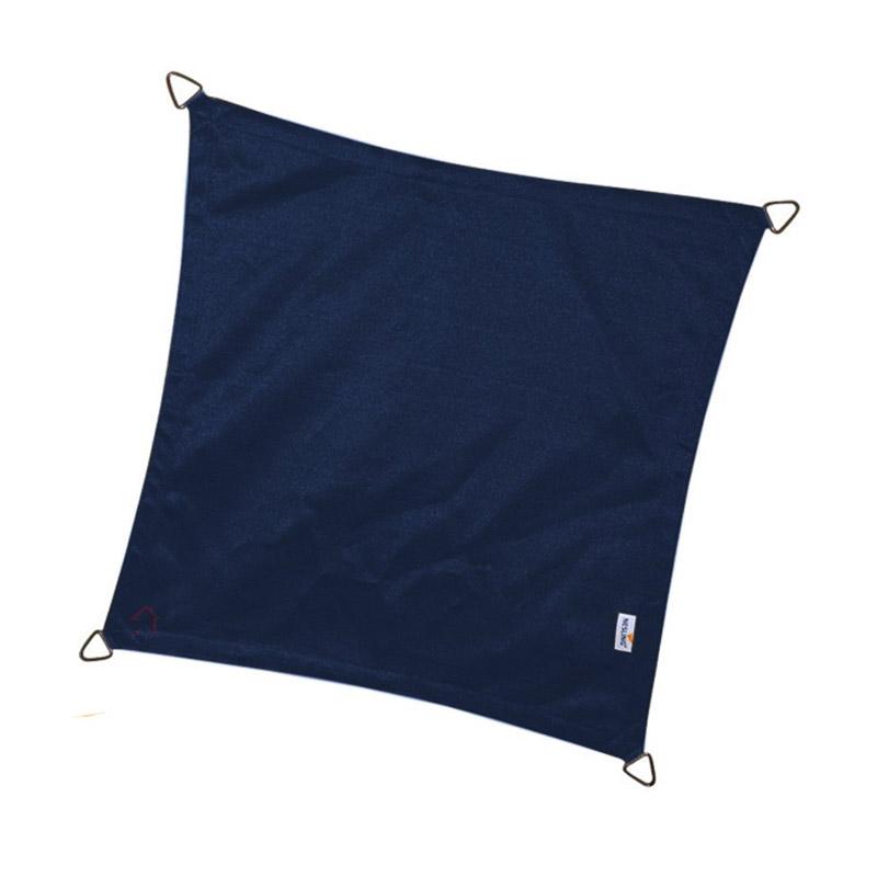 Τετράγωνο πανί σκίασης 285gsm πλευράς 3,6m χρώμα μπλε
