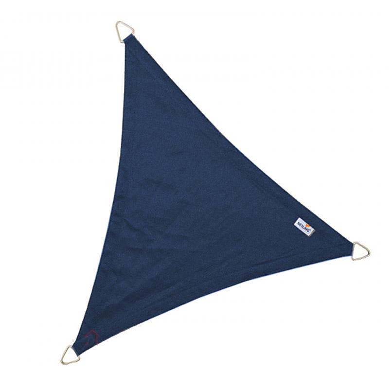Τρίγωνο πανί σκίασης 285gsm 3,6 x 3,6 x 3,6m χρώμα μπλέ