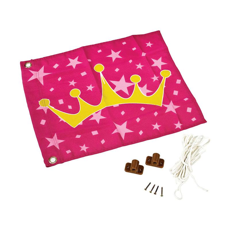 Παιδική σημαία με ανέλκυση ¨Πριγκίπισσα¨