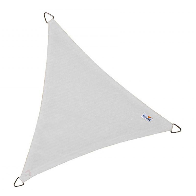 Τρίγωνο πανί σκίασης 285gsm 3,6 x 3,6 x 3,6m χρώμα λευκό