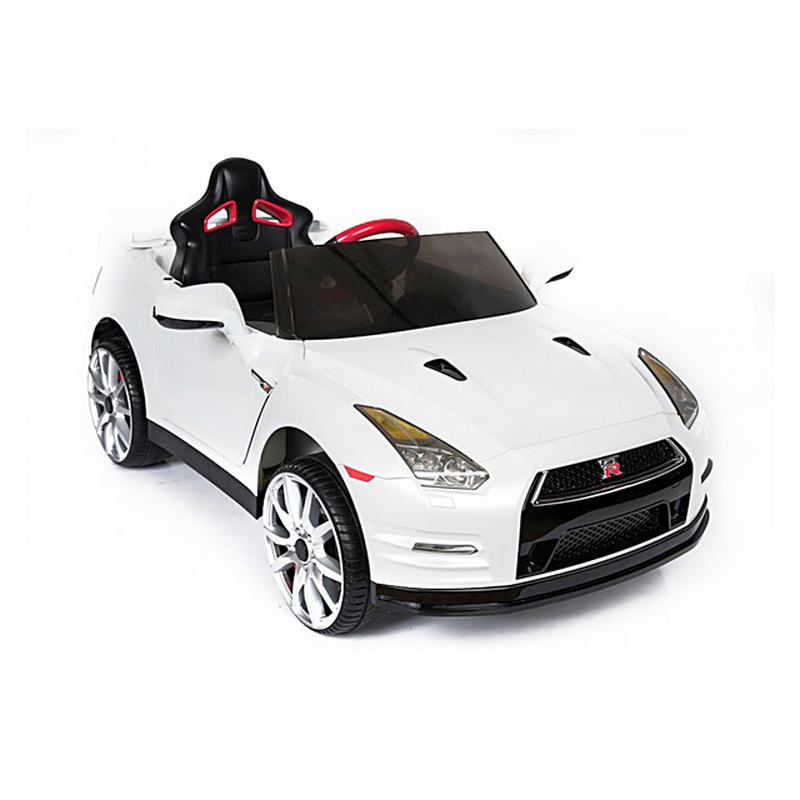 ScorpionWheels Ηλεκτροκίνητο παιδικό αυτοκίνητο Licenced Nissan GT-R R35 12v με τηλεκοντρόλ Μπορντό 5243800