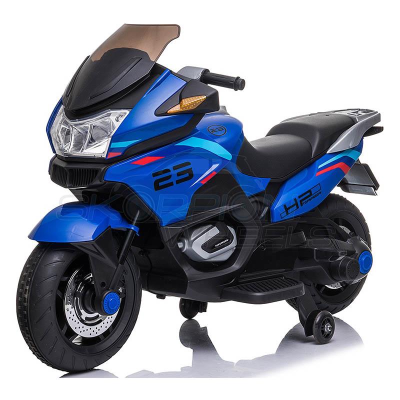 SkorpionWheels Ηλεκτροκίνητη παιδικη μοτοσυκλέτα 12V Μπλε 5245009