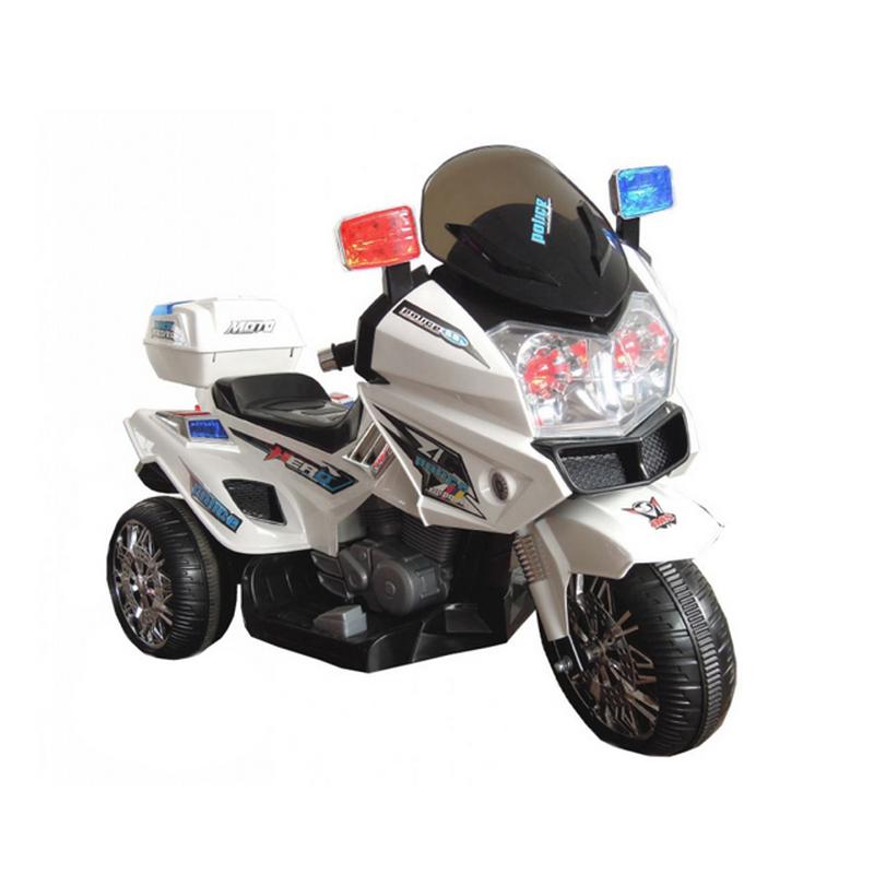 ScorpionWheels Ηλεκτροκίνητη παιδικη μοτοσυκλέτα / μηχανή Αστυνομίας / Police  6v 5245025