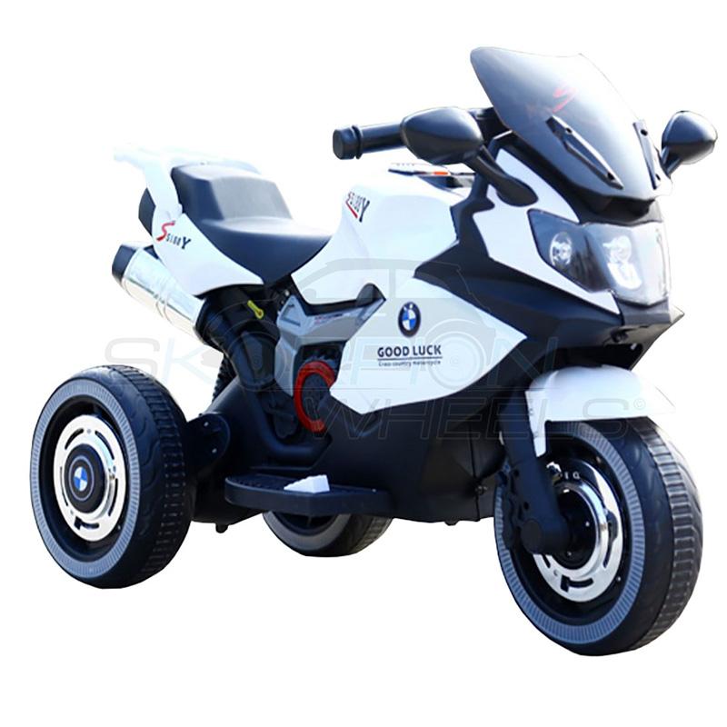 ScorpionWheels Ηλεκτροκίνητη παιδικη μοτοσυκλέτα τύπου BMW 6v με τηλεκοντρόλ λευκή 5245051