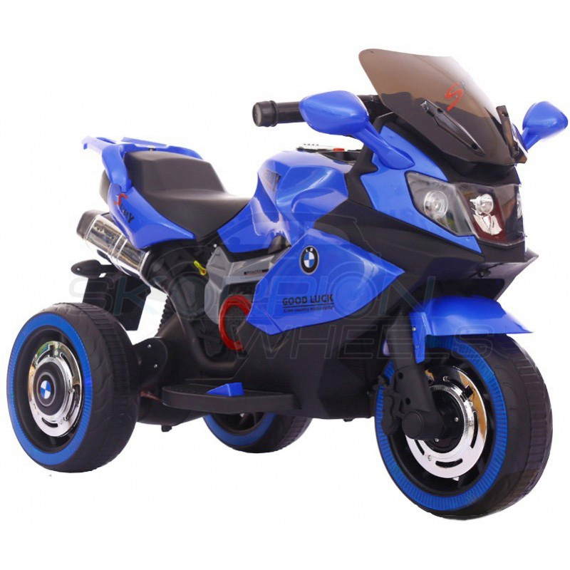 ScorpionWheels Ηλεκτροκίνητη παιδικη μοτοσυκλέτα τύπου BMW 6v με τηλεκοντρόλ μπλε 5245051