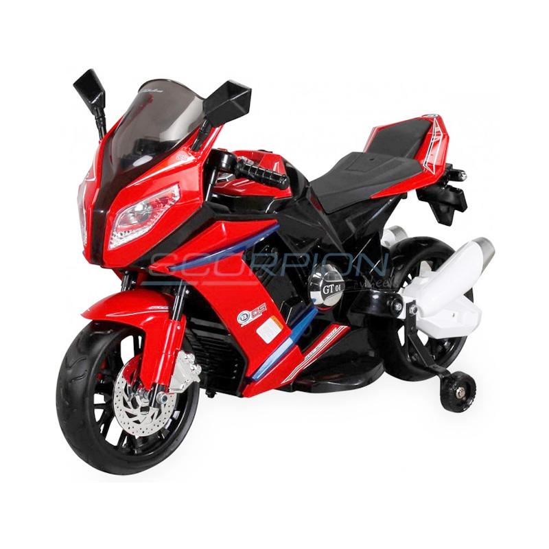 ScorpionWheels Ηλεκτροκίνητη παιδικη μοτοσυκλέτα / μηχανή τύπου BMW S1000RR 12v κόκκινη 5245085