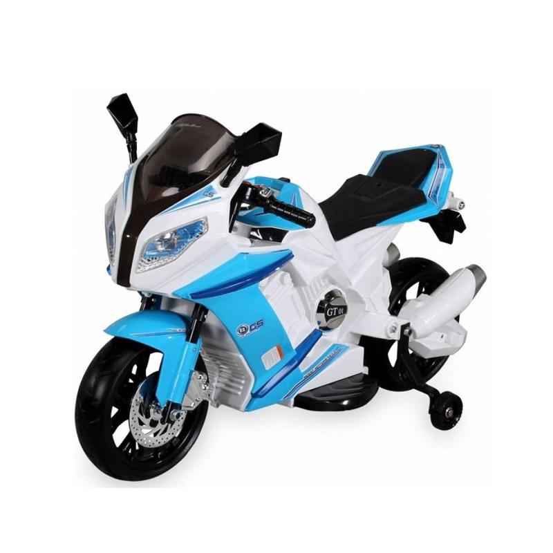 ScorpionWheels Ηλεκτροκίνητη παιδικη μοτοσυκλέτα / μηχανή τύπου BMW S1000RR 12v Λευκή 5245085