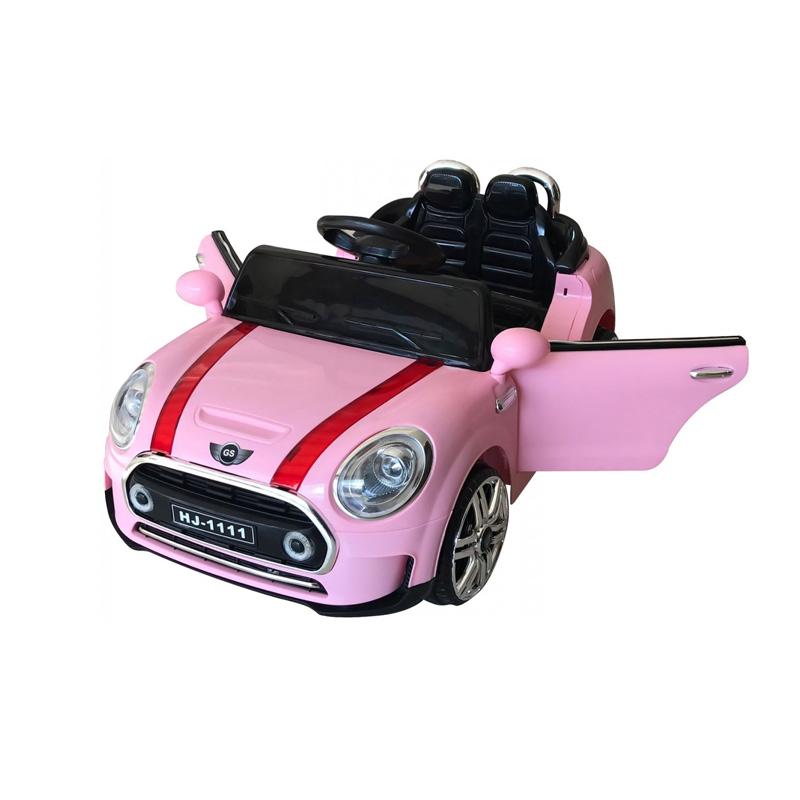 ScorpionWheels Ηλεκτροκίνητο παιδικό αυτοκίνητο τύπου Mini Cooper Ροζ με τηλεκοντρόλ 12v 5246011