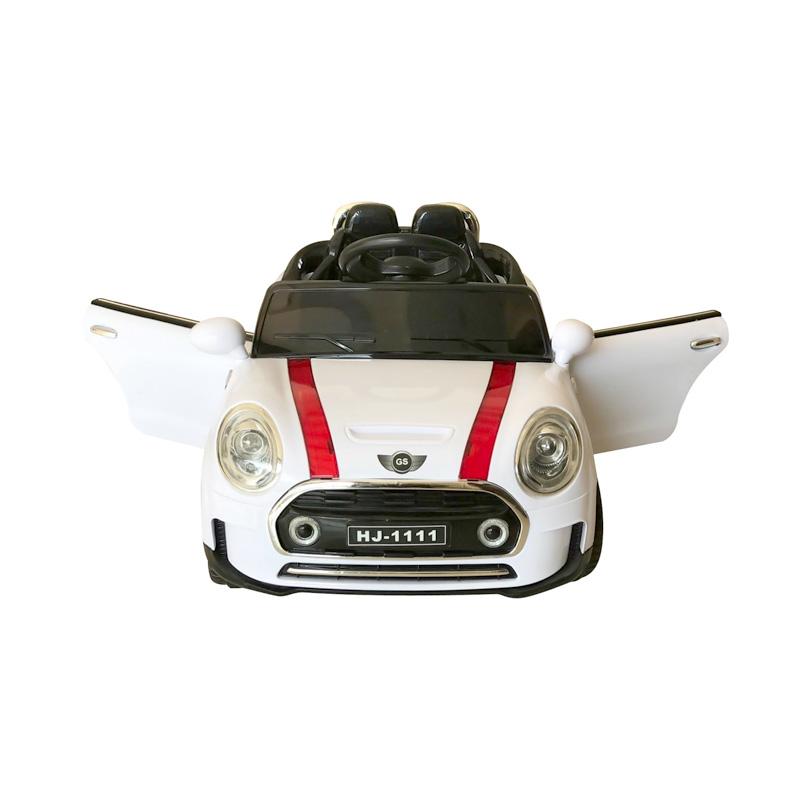 ScorpionWheels Ηλεκτροκίνητο παιδικό αυτοκίνητο τύπου Mini Cooper Λευκο με τηλεκοντρόλ 12v 5246011