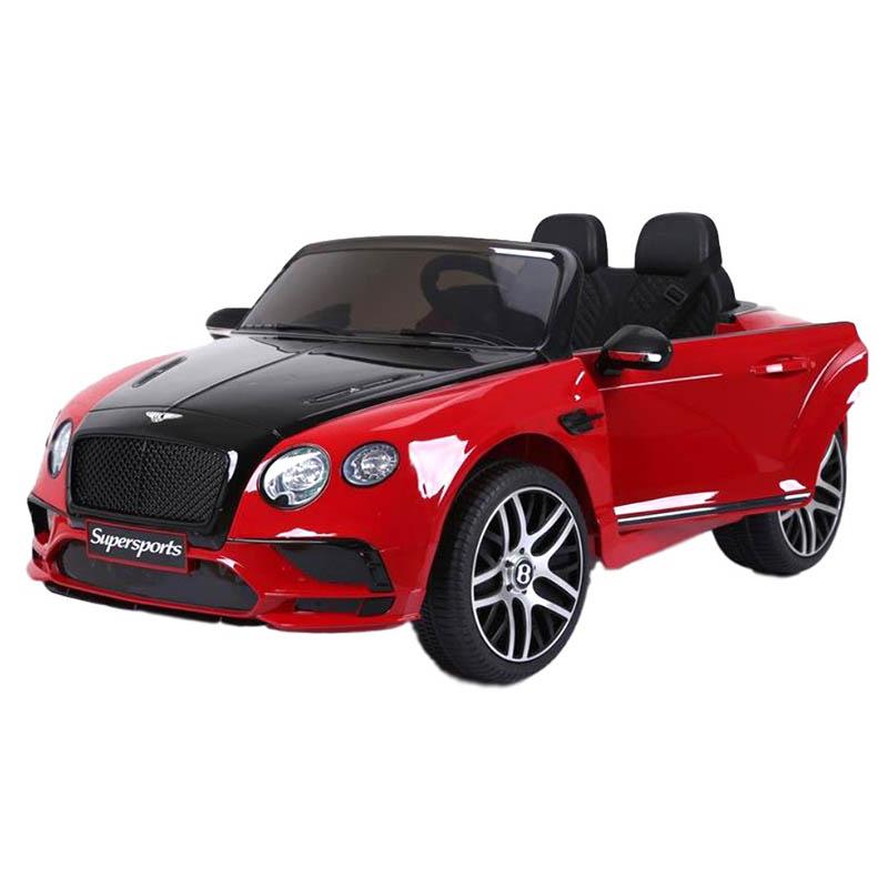 SkorpionWheels Ηλεκτροκίνητο παιδικό αυτοκίνητο Licenced Bentley Continental Supersports  12v με τηλ/τρόλ Κόκκινο 52460151