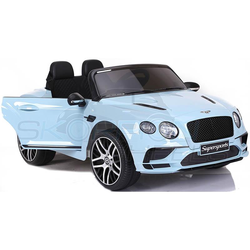 SkorpionWheels Ηλεκτροκίνητο παιδικό αυτοκίνητο Licenced Bentley Continental Supersports  12v με τηλ/τρόλ Μπλε 52460151