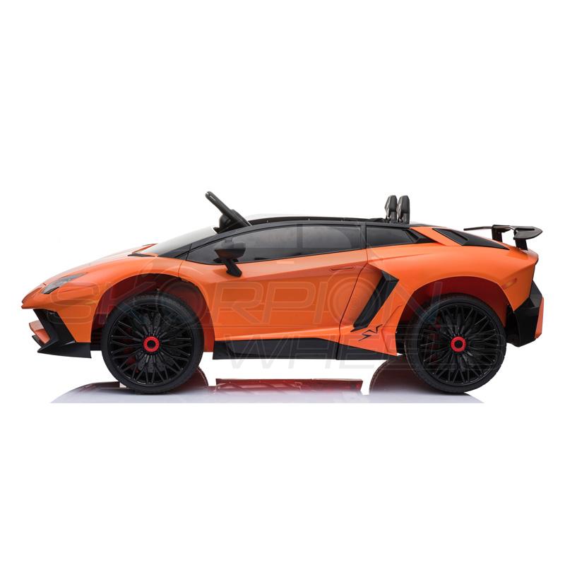 ScorpionWheels Ηλεκτροκίνητο παιδικό αυτοκίνητο Licenced Lamborghini 12v με τηλεκοντρόλ Πορτοκαλί 5246033