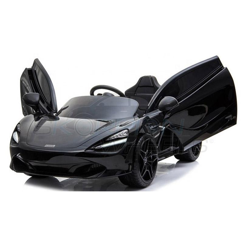 ScorpionWheels Ηλεκτροκίνητο παιδικό αυτοκίνητο Licenced McLAren 720S 12v με τηλεκοντρόλ Μαύρο 52460341