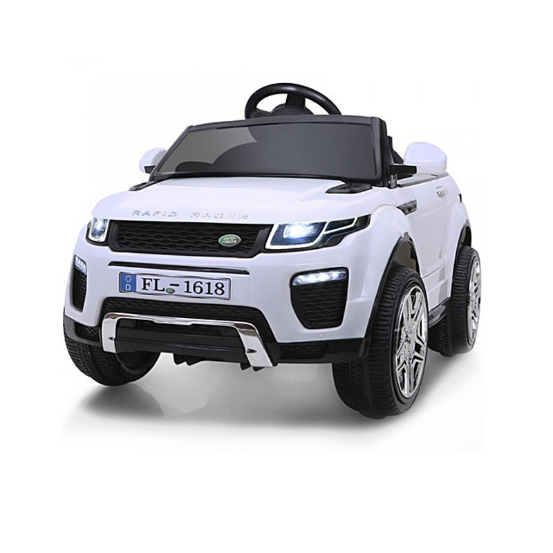 ScorpionWheels Ηλεκτροκίνητο παιδικό αυτοκίνητο τύπου Land Rover 12v με τηλεκοντρόλ Λευκό 5246044