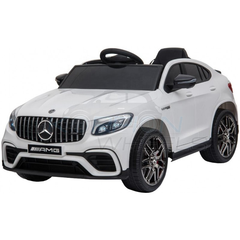 ScorpionWheels Ηλεκτροκίνητο παιδικό αυτοκίνητο Licenced Mercedes GLC 63S AMG 12v με τηλεκοντρόλ Λευκό 5246062