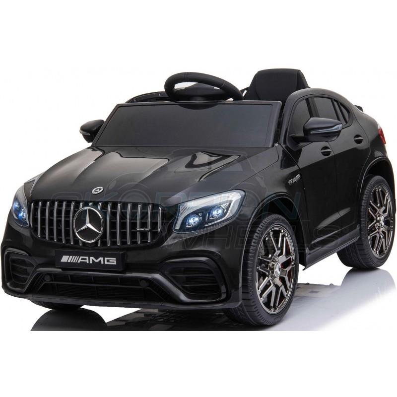 ScorpionWheels Ηλεκτροκίνητο παιδικό αυτοκίνητο Licenced Mercedes GLC 63S AMG 12v με τηλεκοντρόλ Μαύρο 52460621