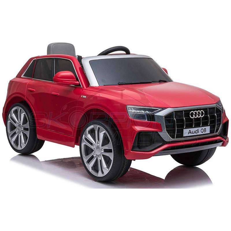 SkorpionWheels Ηλεκτροκίνητο παιδικό αυτοκίνητο Audi Q8  Licenced 12v με τηλεκοντρόλ Κόκκινο 52460661