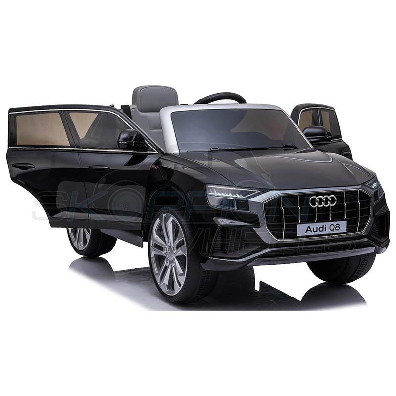 SkorpionWheels Ηλεκτροκίνητο παιδικό αυτοκίνητο Audi Q8  Licenced 12v με τηλεκοντρόλ Μαύρο 52460661