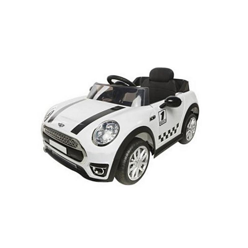 ScorpionWheels Ηλεκτροκίνητο παιδικό αυτοκίνητο τύπου Mini Cooper 12v με τηλεκοντρόλ λευκό 5246098