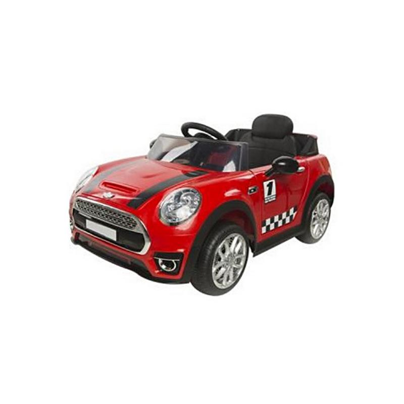 ScorpionWheels Ηλεκτροκίνητο παιδικό αυτοκίνητο τύπου Mini Cooper 12v με τηλεκοντρόλ κόκκινο 5246098