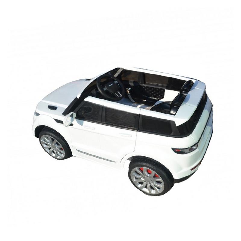 ScorpionWheels Ηλεκτροκίνητο παιδικό αυτοκίνητο τύπου Range Rover 12v με τηλεκοντρόλ λευκό 5247030