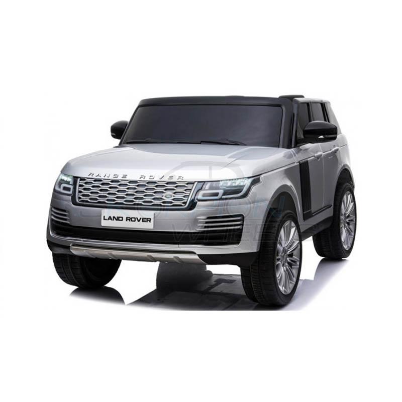 ScorpionWheels Ηλεκτροκίνητο διθέσιο παιδικό αυτοκίνητο Licenced Range Rover 12v με τηλ/τρόλ Γκρι 52470321