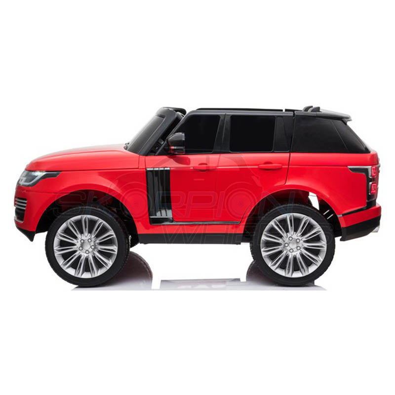 ScorpionWheels Ηλεκτροκίνητο διθέσιο παιδικό αυτοκίνητο Licenced Range Rover 12v με τηλ/τρόλ κόκκινο 52470321