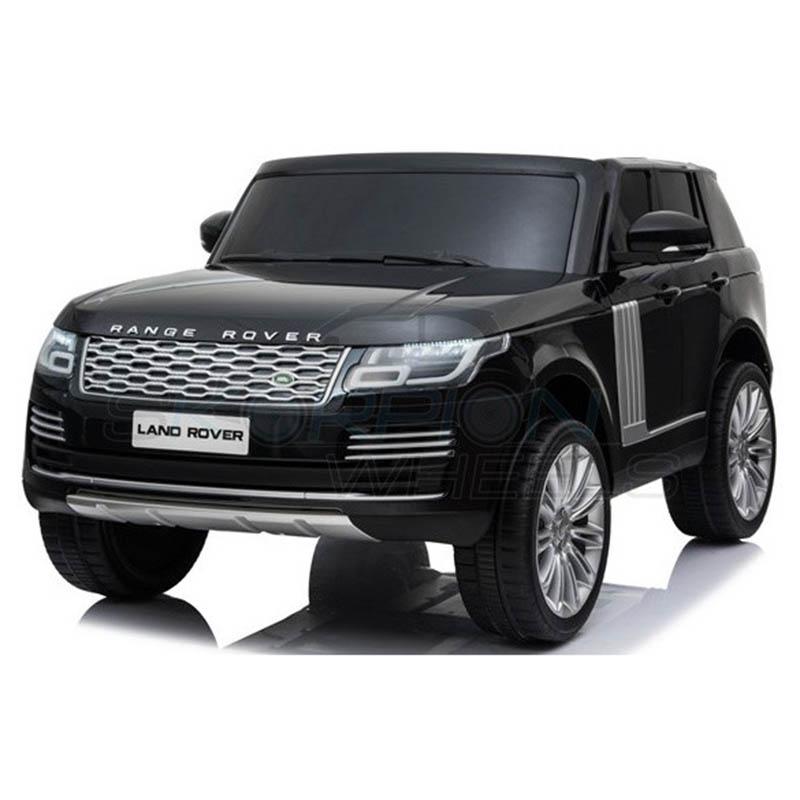 ScorpionWheels Ηλεκτροκίνητο διθέσιο παιδικό αυτοκίνητο Licenced Range Rover 12v με τηλ/τρόλ Μαύρο 52470321