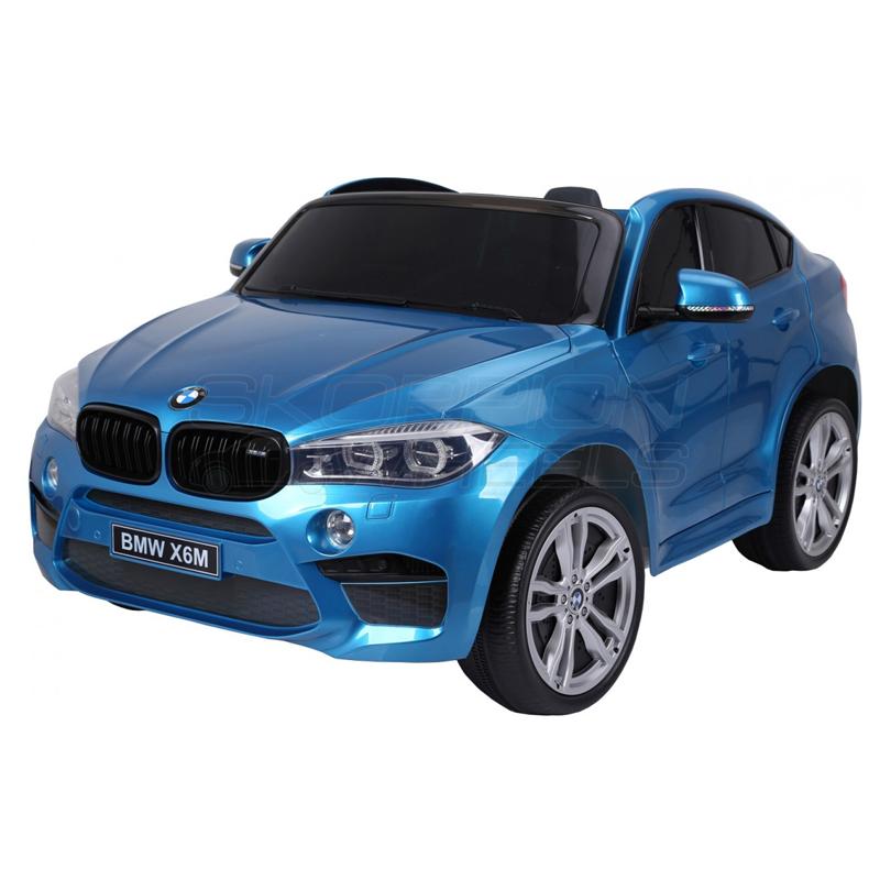 ScorpionWheels Ηλεκτροκίνητο παιδικό αυτοκίνητο Licenced BMW X6Μ Διθέσιο 12v με τηλ/ρόλ Μπλε 5248068