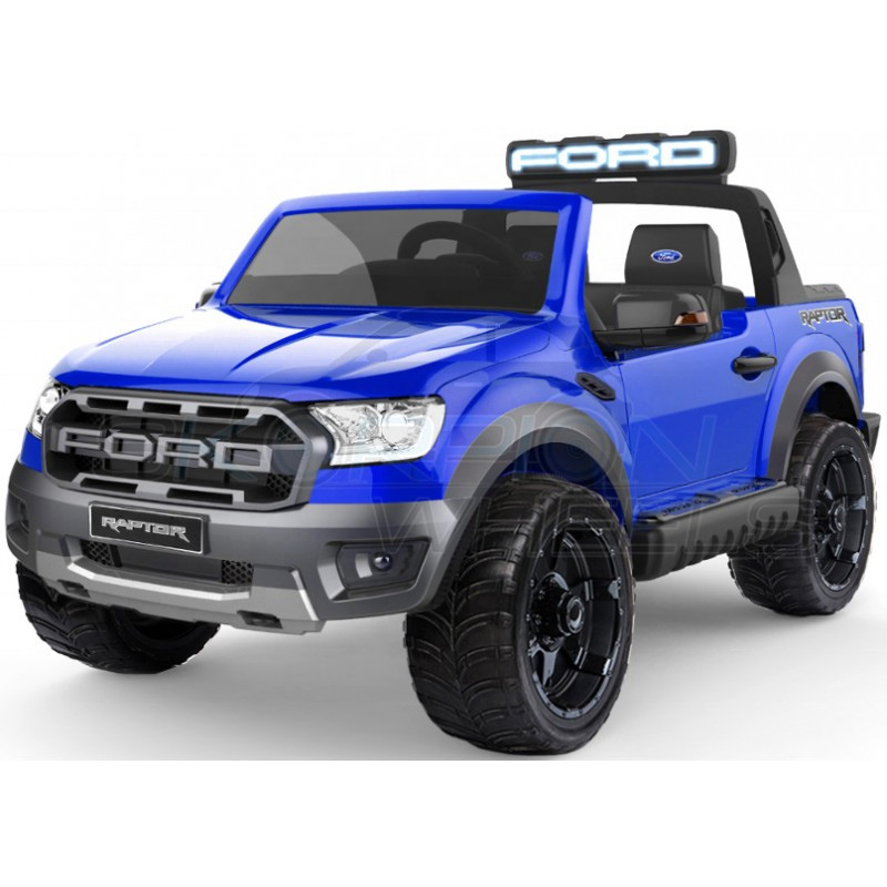 ScorpionWheels Ηλεκτροκίνητο διθέσιο παιδικό αυτοκίνητο Licenced Ford Raptor II 12v με τηλ/τρόλ Μπλε 52470831