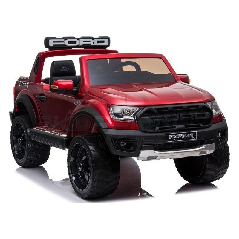 ScorpionWheels Ηλεκτροκίνητο διθέσιο παιδικό αυτοκίνητο Licenced Ford Raptor II 12v με τηλ/τρόλ Κόκκινο 52470831