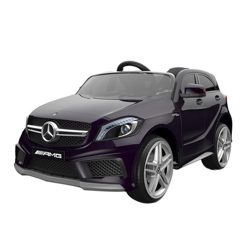 ScorpionWheels Ηλεκτροκίνητο παιδικό αυτοκίνητο Licenced Mercedes A 45 AMG 12v με τηλεκοντρόλ Λευκό 5247090