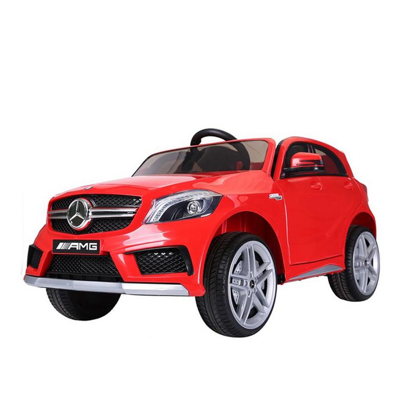 ScorpionWheels Ηλεκτροκίνητο παιδικό αυτοκίνητο Licenced Mercedes A 45 AMG 12v με τηλεκοντρόλ μπορντό 5247090
